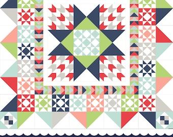 Corner Crossing Quilt Pattern