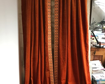 French Curtains Etsy