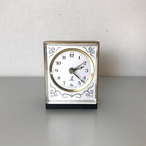 Vintage Ceramic Wall Clock 1950/'s Jaz Clock French Vintage Wall Clock Mid Century Retro