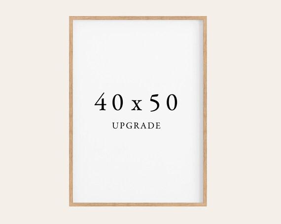 40x50 Upgrade