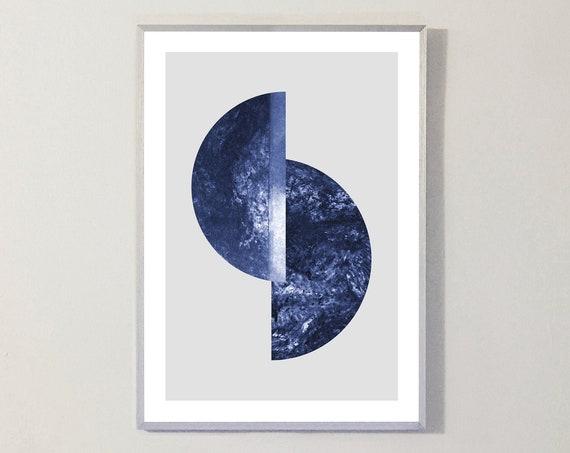 Print BLUE MOON