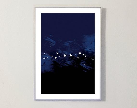 Print INTO BLUE