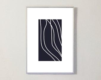 Print LINES DARK
