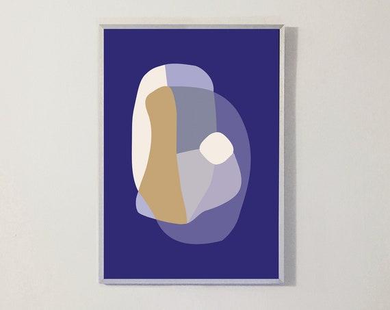 Print FORM XXVII blue