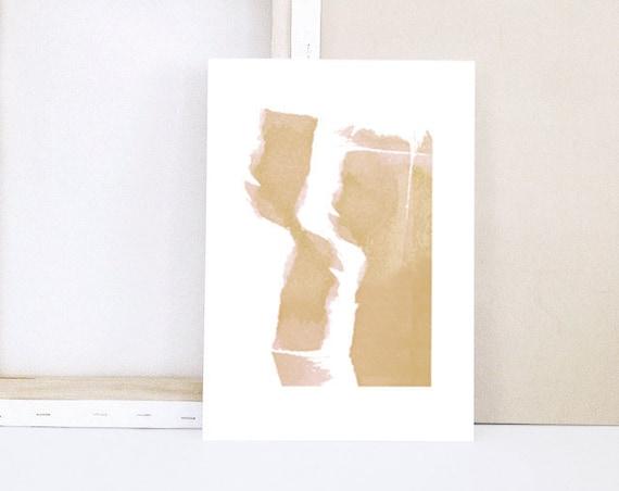 Mini Print - WATERCOLOR IV