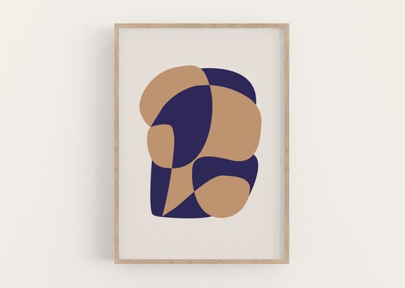 Print ABSTRACT SHAPES I DIN A4