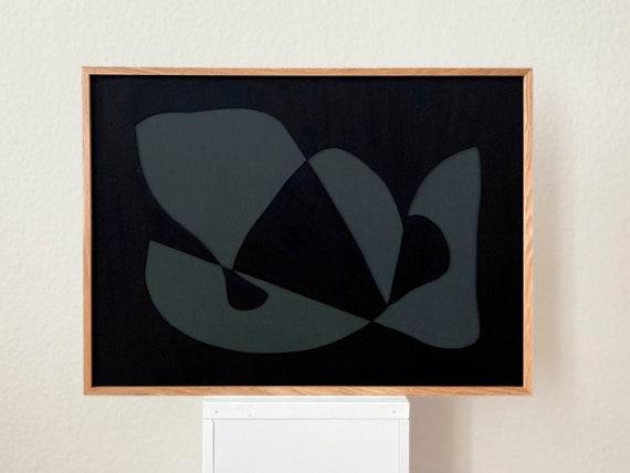 Original work - Dark Shapes - Papercut - 50x70