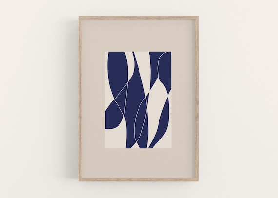 Print LINED SHAPES DIN A4