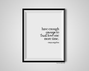 Have Enough Courage Etsy