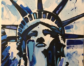 Blue Lady Liberty