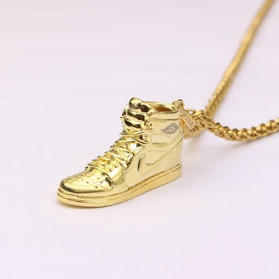 d205a381035dc6 clearance air jordan 11 gold jumpman necklace 978c0 f1a7a