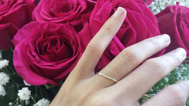 platinum ring Vous et nul autre ring solid gold 14kt 18kt 950 platinum rose gold white gold yellow gold engraved promise ring I Love You