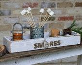 Smores Engraved Storage Box