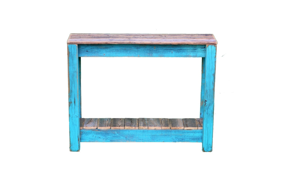 Rustic 36 Inch Combo Table