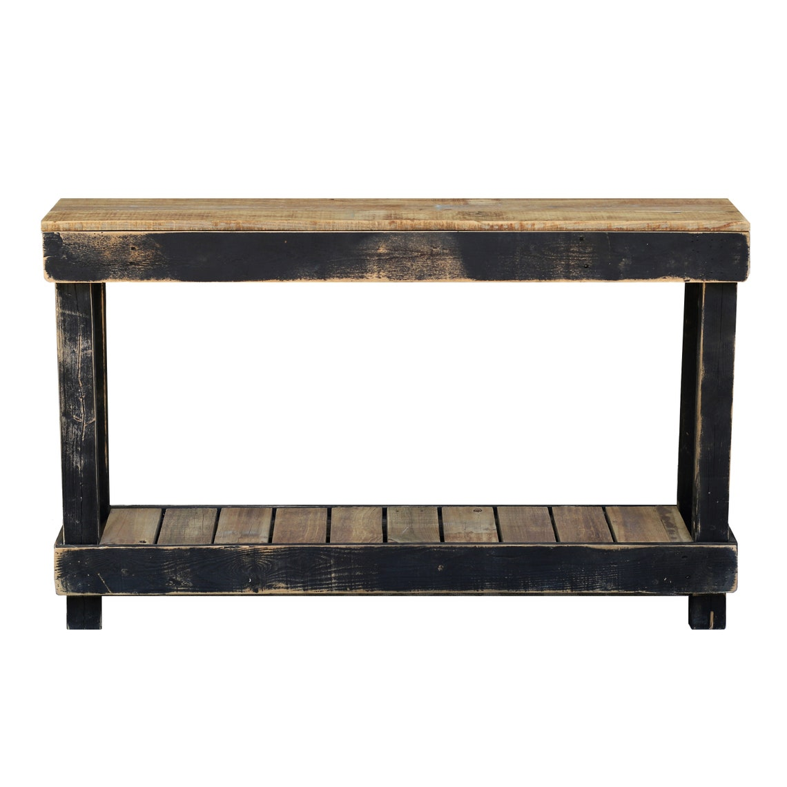 Black Luxe Combo Console Table