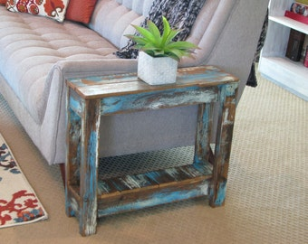 Heavily Distressed Side Table