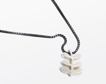 Flower Stem Necklace
