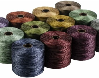 Three more colours to choose. New Price S-lon Cord 77 yards per reel 70.4m