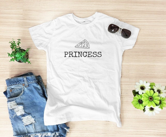 8d0dbee987d Pizza princess shirt pizza tshirt funny shirt quote tee