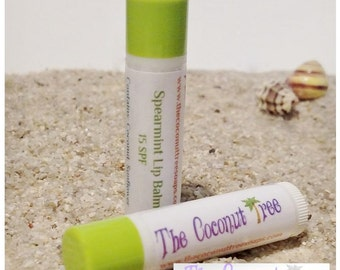 Spearmint Flavor Lip Balm