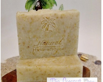 Basic Oatmeal Soap - No scent or Colorant, Just Oatmeal
