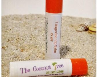 Tangerine Flavor Lip Balm