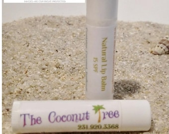 Green Apple Flavor Natural Lip Balm
