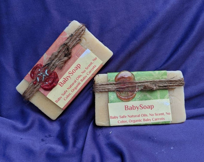 Travel size Baby Soap - No added scent or color