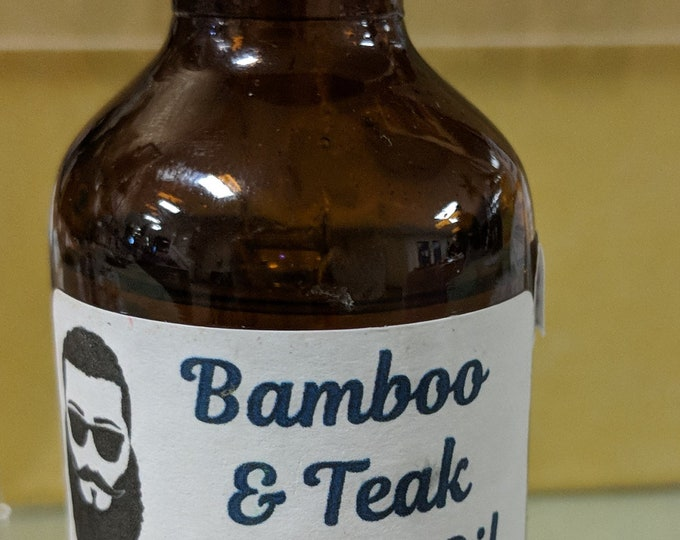 Bamboo & Teak Scented Beard Oil