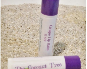 Grape Flavored Lip Balm