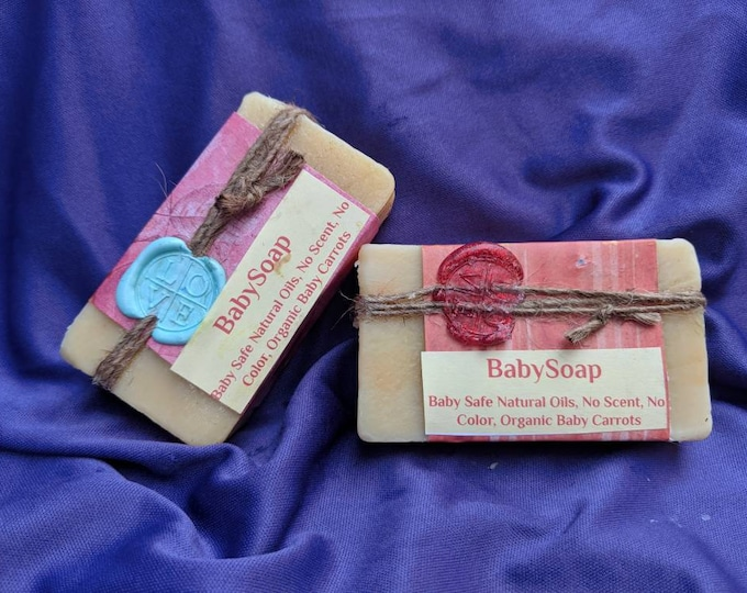 Baby Soap - No added scent or color