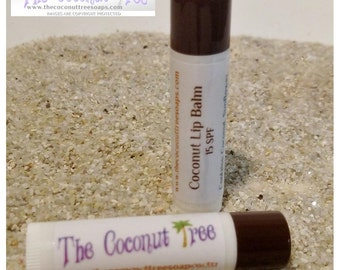 Coconut Flavored Lip Balm