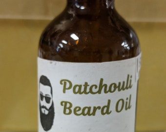 Patchouli Scented Beard Oil