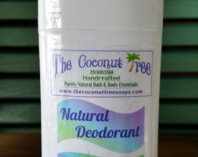 Unscented Deodorant / Aluminium Free / Coconut Oil / Organic Deodorant / Non GMO / Safe / Great for Cancer Patients