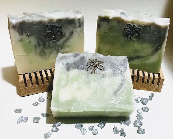 Patchouli Soap / Essential Oil Soap / Natural Soap / Antibacterial Soap / 5oz bar soap / Vegan Soap / face soap