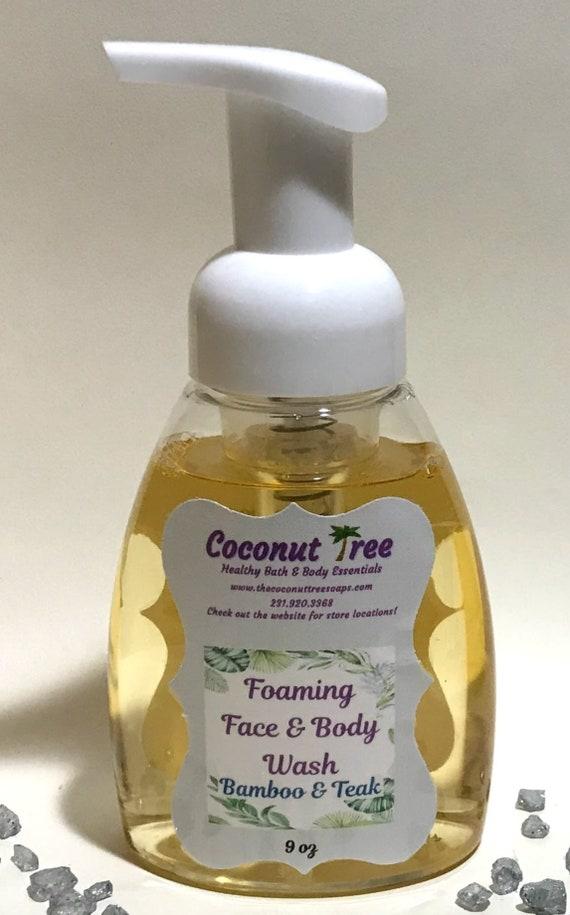 Bamboo & Teak Foaming Liquid soap
