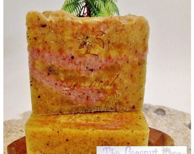 Brown Sugar & Cinnamon Clove Soap / Natural Soap / Antibacterial Soap / 5oz bar soap / Vegan Soap / face soap