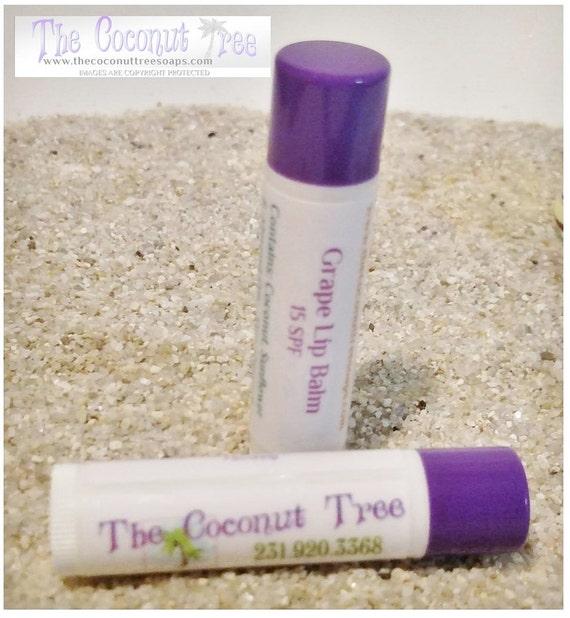 Grape Flavored Lip Balm