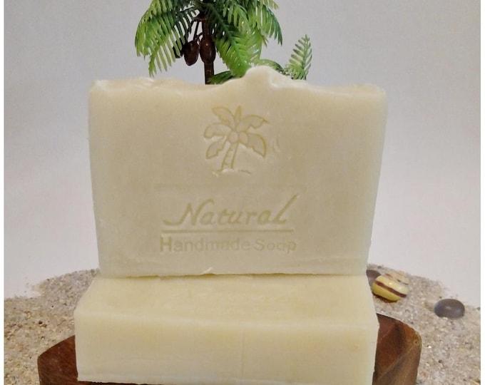 Basic Bar Soap / Unscented Soap / Natural Soap / Antibacterial Soap / 5oz bar soap / Vegan Soap / Face Soap
