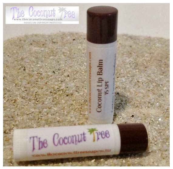 Coconut Flavored Lip Balm