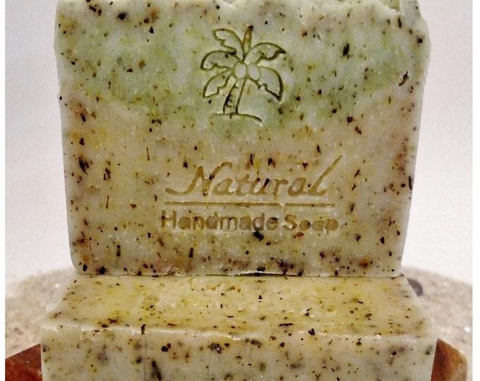 Rosemary Mint Soap / Essential Oil Soap / Natural Soap / Antibacterial Soap / 5oz bar soap / Vegan Soap / face soap