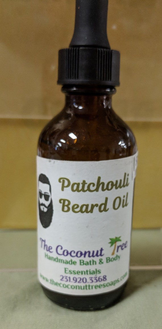Patchouli Scented Beard Oil