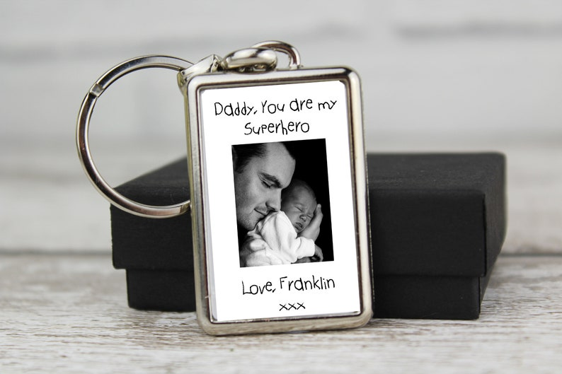 Personalised Photo Keyring With Any Picture Keychain Comes With Giftbox