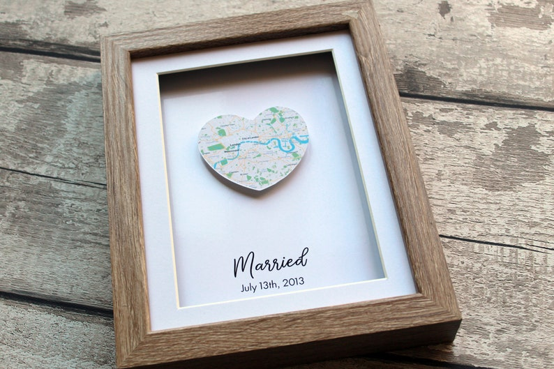 24f33284a1c6 Anniversary gift for parents anniversary map gift