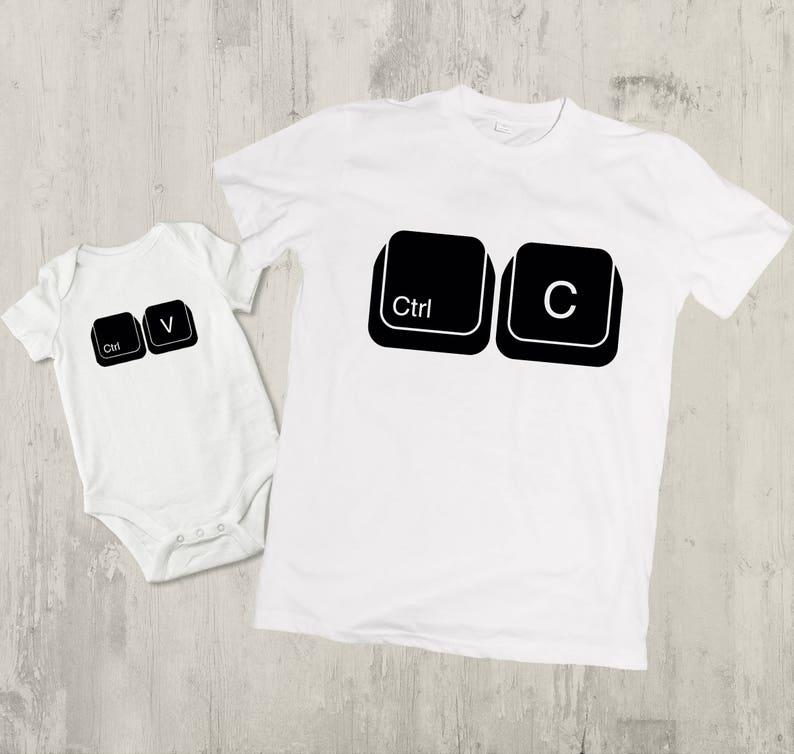 1d18b1695 Ctrl c ctrl v shirts father daughter matching shirts daddy   Etsy