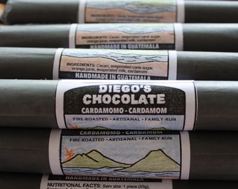 Whole cardamom inclusion! 5 All-Natural Mayan Chocolate Rolls