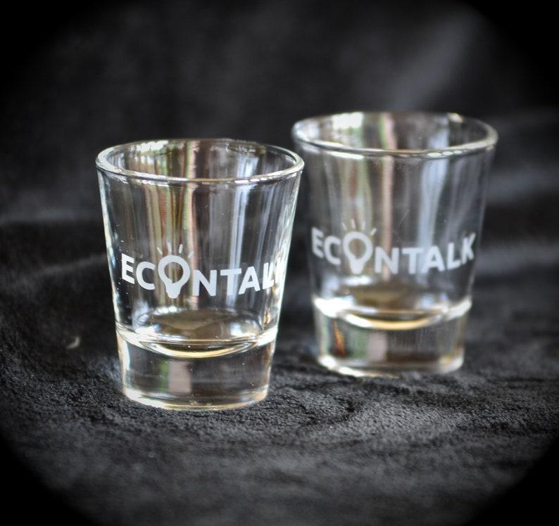 EconTalk Shot Glasses  Pair image 0