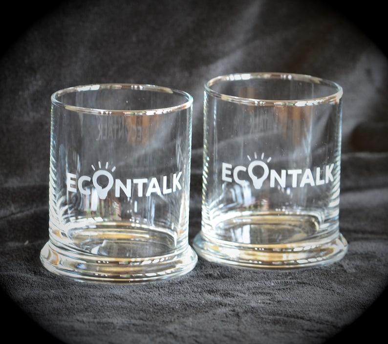 EconTalk Rock Glasses  Pair image 0