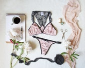 Racer Back Bra and Panties Sewing Pattern Bundle Ohhh Lulu 1502 and 1506 Nora and Scarlett PDF Instant Download Pattern
