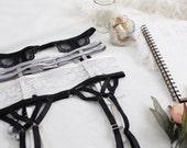 The 'Cora' Elastic Strap Suspender Garter Belt PDF Tutorial E-Book